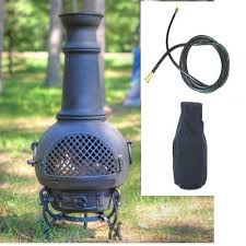 Outdoor Metal Fireplaces - top 8 for best propane chiminea