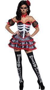 day of dead costume new women vire skull costume carnival