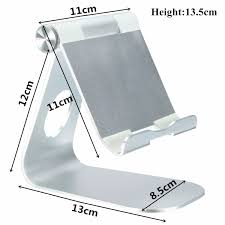 universal adjustable aluminum alloy dock holder desk stands for