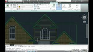 how to use the autocad hatch tools lynda com tutorial youtube