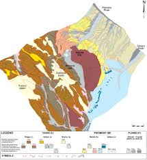 Norcia Italy Map Two Tectonic Geomorphology Studies On The Landscape And Drainage