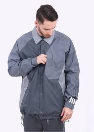 adidas originals x white mountaineering bench jacket grey