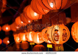 luck lanterns stock images royalty free images vectors
