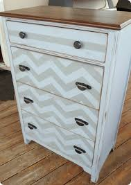Upcycle Laminate Furniture - dishfunctional designs upcycled dressers painted wallpapered