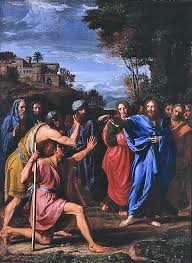 Blind Bartimaeus In The Bible Healing The Man Blind From Birth Wikipedia