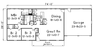 ranch style floor plan 1400 sq ft house plans eplans ranch house plan one charmer