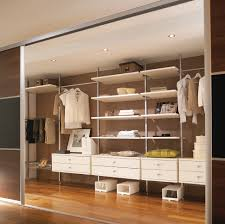 vintage modern grey and white walk in closet inspiration for