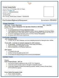Sap Resume Samples For Freshers by Professional Curriculum Vitae Resume Template For All Job