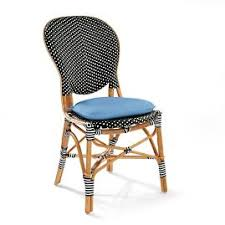 Blue Bistro Chairs Set Of Two Paris Bistro Side Chairs Frontgate
