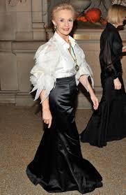 carolina herrera style white blouse and jewels