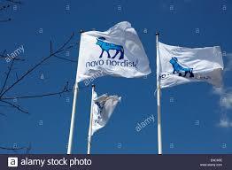 Va Flag The Novo Nordisk Corporate Flags At The Headquarters In Bagsvaerd