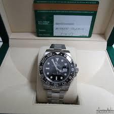 rolex steel oyster bracelet images Rolex gmt master ii 116710ln scrambled black index dial oyster jpg