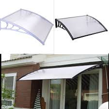 Plastic Door Canopy by Sliding Glass Door Awning Choice Image Glass Door Interior