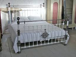 giselle antique graceful dark bronze victorian iron bed by inspire