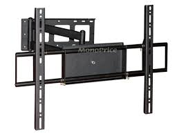 19 Inch Monitor Wall Mount Corner Friendly Full Motion Wall Mount Bracket For 37 70 In Tvs