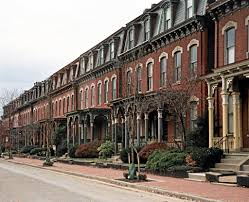 second empire row house porch google search old house