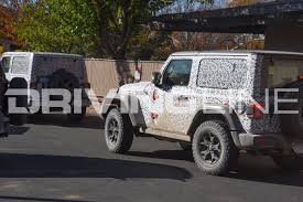 floating jeep exclusive spy photos of the 2018 jeep wrangler jl in moab utah