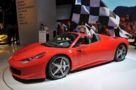 fake ferrari 458 ferrari 458 spider at frankfurt auto show vol sweet goodness