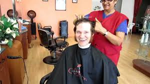 haircut with happy ending youtube