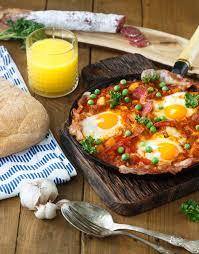 cuisine andalouse le flamenco eggs des huevos un flamenca de la cuisine andalouse