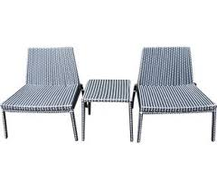 Patio Furniture Without Cushions Modern Cushionless Patio Sets Allmodern