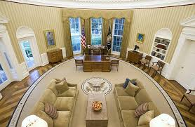 picture first day in oval office for president donald trump