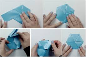 Origami With Letter Size Paper - how to make a origami hexagonal letterfold using a4 paper