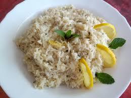 recette riz cuisiné recettes de cuisine faciles riz au citron et à la menthe