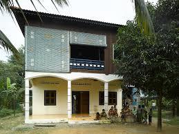 modern walled rural khmer house cambodia ref arch vern