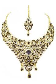 stone necklace set designs images Designer stone necklace set 69161 jpg
