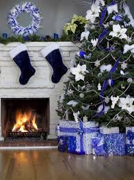 blue and white decorations decor