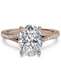 oval engagement rings gold oval engagement rings