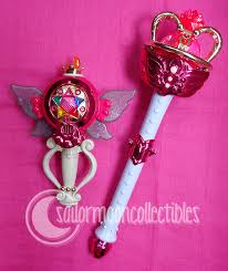 sailor moon wand and chalice set sold by onsenmochi on deviantart