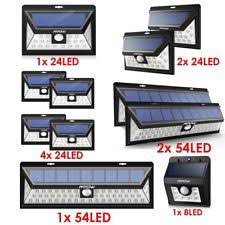 solar powered exterior wall lights outdoor wall light sensor ebay