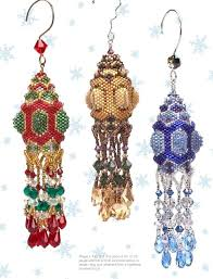 ornaments crafts with beaded ornaments make