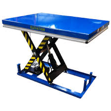 Hydraulic Scissor Lift Table by The Static Lifting Table 1000kg Uses A Hydraulic Scissor Lift To