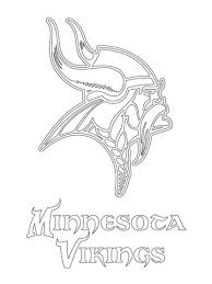 nfl team coloring pages minnesota vikings logo coloring page free printable coloring pages