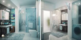 modern apartment master bath by kasrawy on deviantart