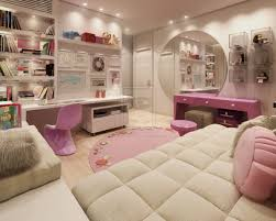 girls room paint ideas bedroom girly decorating teenage for