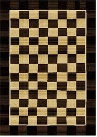 Ebay Area Rug Black And White Checkered Area Rug Ebay Within