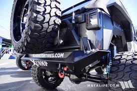 black jeep tires 2017 sema gladiator xcomp tires black jeep jk wrangler unlimited