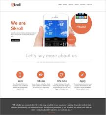 38 one page website themes u0026 templates free u0026 premium templates