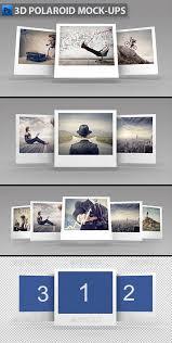 polaroid mockup graphics designs u0026 templates from graphicriver
