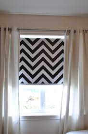 Gray And White Chevron Curtains by Diy Chevron Roller Blind Roller Blinds Rollers And Chevron
