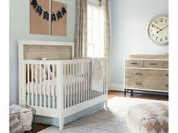 Gray Convertible Cribs by Youth Bedroom Myroom Convertible Crib Parchment