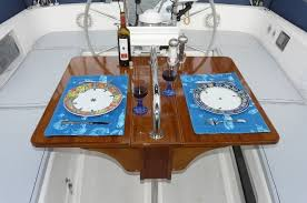 boat tables for cockpit handmade cockpit table by anglo marine custommade com