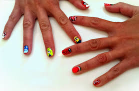 easy nail art designs by hand