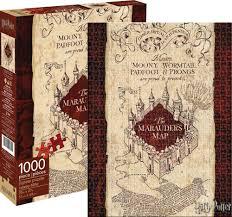 Marauders Map Dress Aquarius Harry Potter Marauders Map 1000 Piece Puzzle Walmart Com