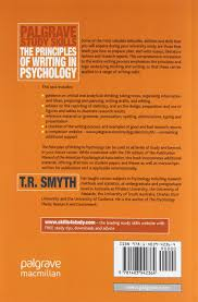 the principles of writing in psychology palgrave study skills