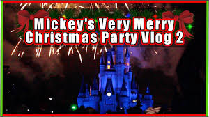 walt disney world mickey u0027s very merry christmas party vlog 2 youtube
